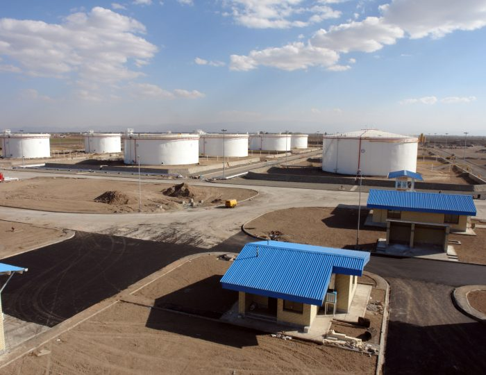 Ardebil's New Oil Storage Project