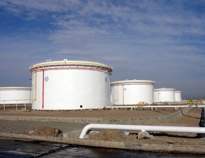 Ardebil's New Oil Storage Project